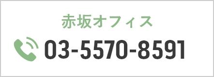 赤坂オフィス 03-5570-8591